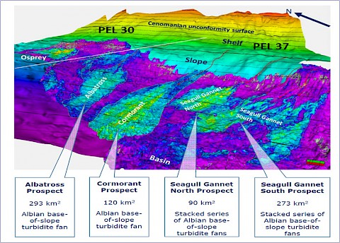 Basin Floor Prospects in the Lower Cretaceous Sequence
